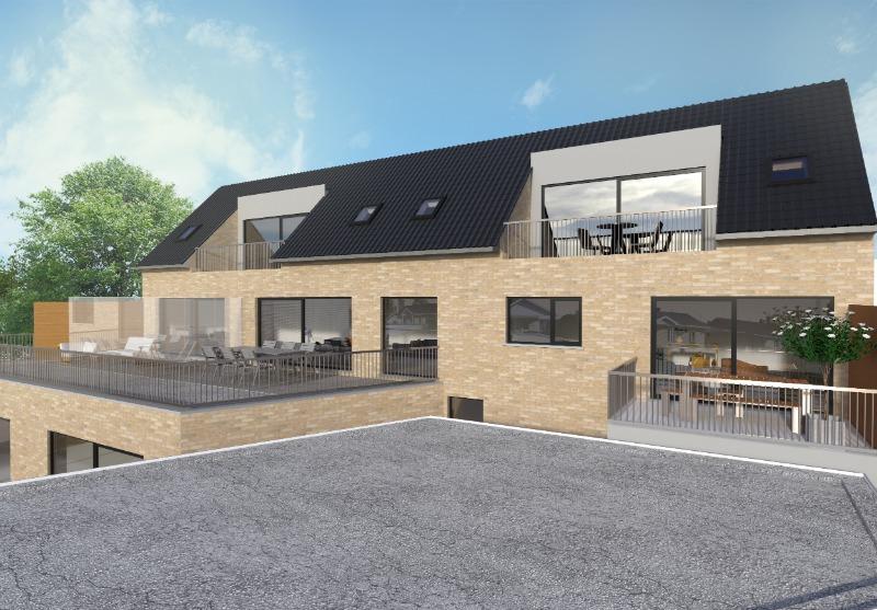 Nieuwbouwproject bestaande uit 8 wooneenheden te Meulebeke.