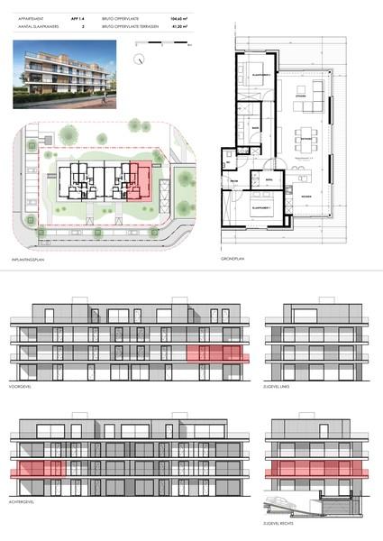 Nieuwbouwappartement met topligging te Gullegem.