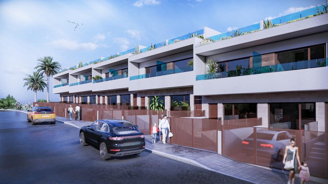 10 duplexwoningen gelegen in Los Balcones, Torrevieja.
