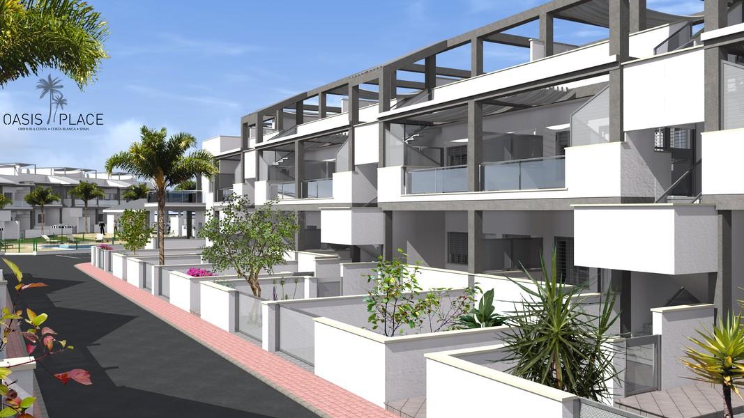 Nieuwbouwappartementen en duplexen vlakbij de kust.